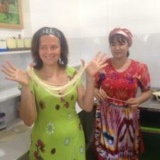 food uzbek master class