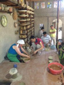 master class gijduvan ceramics
