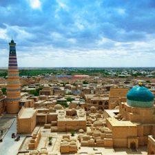 Open-air museum, Khiva