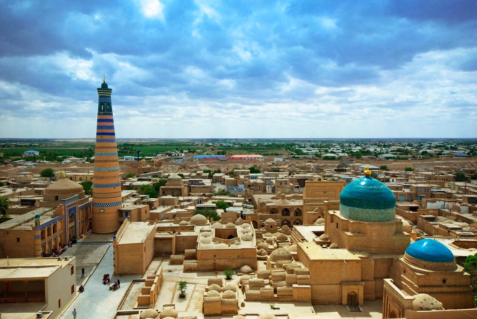 Open-air museum, Khiva