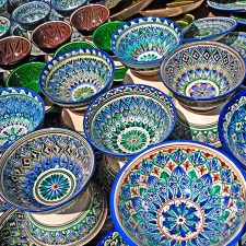 Uzbek ceramics / Узбекская керамика