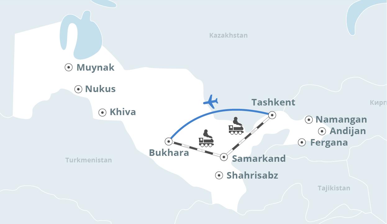 Uzbekistan travel and tourism Ziyarat trip to Muslim shrines