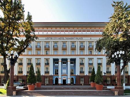 [:ru]Гостиница «Лотте Сити Ташкент Палас» (бывшая «Ташкент Палас»)[:en]Hotel «Lotte City Hotel Tashkent Palace» (former  «Tashkent Palace»)[:]