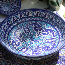 Uzbek ceramics and ornaments / Узбекская керамика и орнаменты