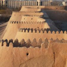khiva-wall
