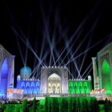 Новый год на Регистане