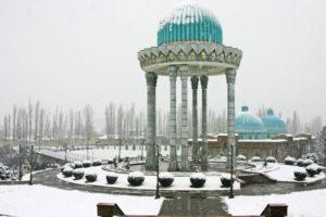 Ташкент зимой