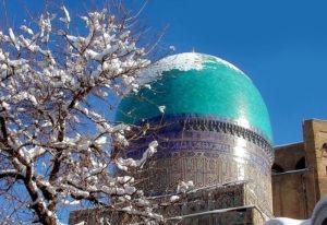 Зима в Самарканде