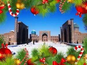 New Year in Uzbekistan / Новый Год в Узбекистане