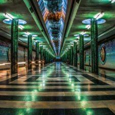 Tashkent underground / Ташкентское метро