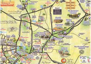 Samarkand map