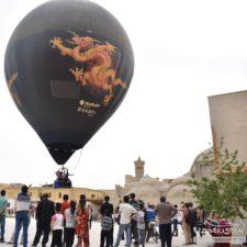 Ballons in Bukhara