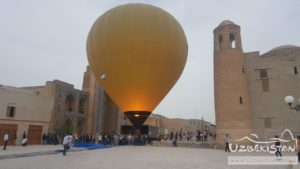 Ballons in Uzbekistan