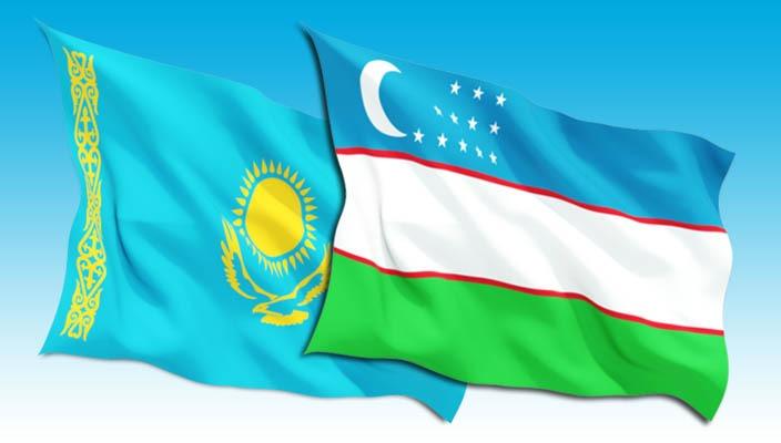 Uzbekistan and Kazakhstan